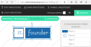 Logo entwerfen Tool