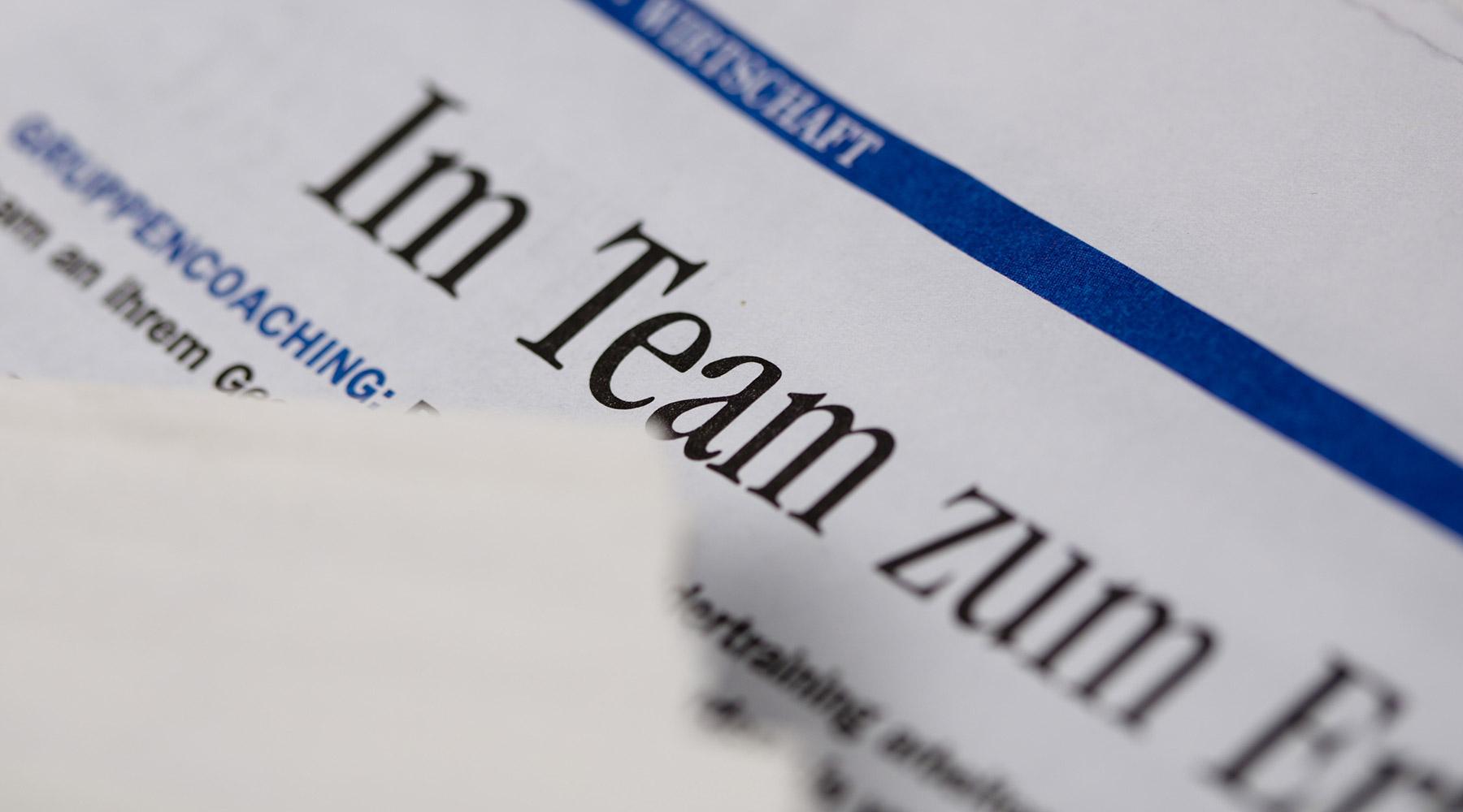 Symbolfoto Team Erfolg Gründung Delegieren