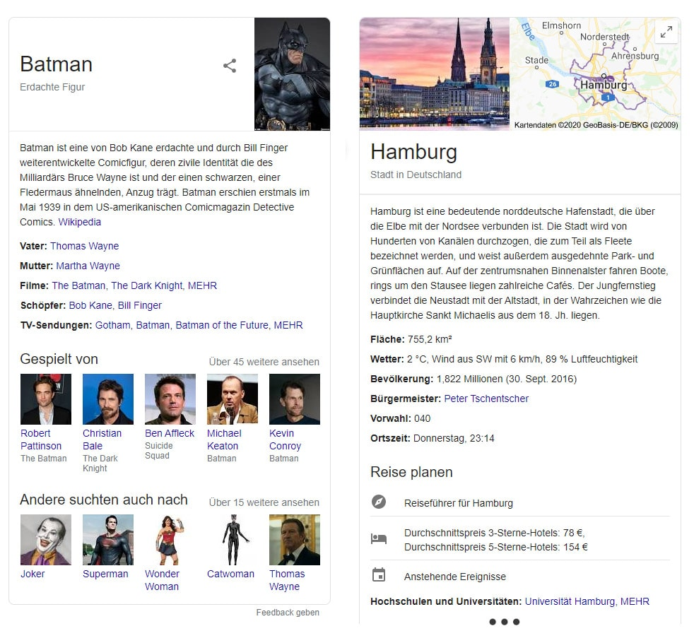 SEO Google Knowledge Graph